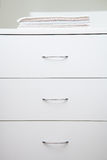 Fragment of a home wardrobe Royalty Free Stock Photography