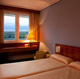 Fragment of a hotel room Royalty Free Stock Image