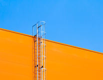 Fragment of industrial architecture Stock Image