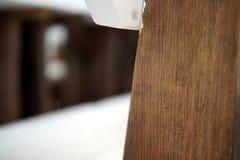 Fragment intérieur en bois images stock