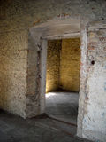 Fragment of interior of ancient building Stock Photography