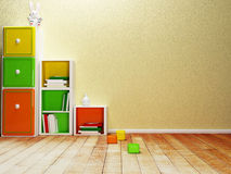 Fragment of the interior Stock Photography