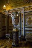 Fragment of the interior in Fontainebleau Royalty Free Stock Photography