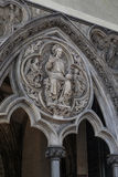 Fragment of the interior of Westminster Abbey, London Stock Photography
