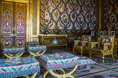 Fragment of interiors of the royal apartments royalty free stock photo