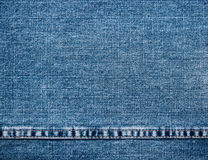 Fragment jeans Stock Image