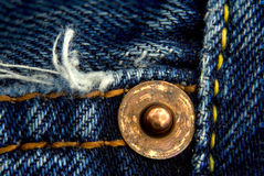 Fragment of jeans Stock Images