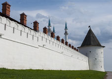 Fragment of the Kazan Kremlin Stock Photography