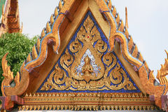 Fragment of King Palace in Bangkok. Royal Pavilion Mahajetsadabadin in Thailand Royalty Free Stock Images