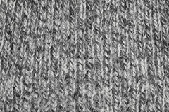 Fragment of knitting wool sweater Royalty Free Stock Images