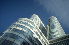 Fragment from La Defence, Paris, France Royalty Free Stock Photography