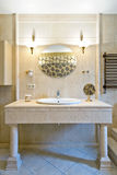 Fragment of a luxury bathroom. Interior Royalty Free Stock Photos