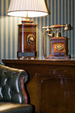 Fragment of an luxury cabinet room Stock Image