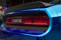 Fragment of luxury sport car Stock Photography
