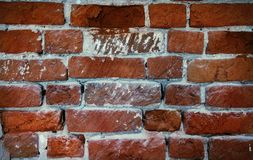 Fragment of masonry Stock Photography