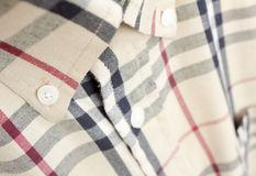 Fragment men shirt Stock Image