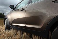 Fragment of metal car Stock Photography