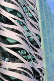 Fragment of modern building Royalty Free Stock Photography