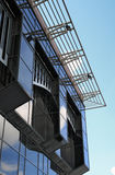 A fragment of a modern building Stock Image