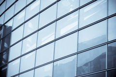 Fragment of a modern building Royalty Free Stock Image