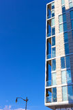 A fragment of modern building exterior in Washington DC, USA. Royalty Free Stock Photos