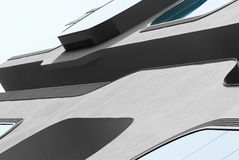 Fragment of a modern building, Hamburg Stock Images