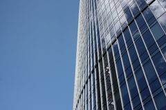 Fragment of modern building Royalty Free Stock Image