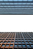 Fragment of modern buildings Royalty Free Stock Photo
