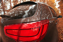 Fragment of modern car. Fragment of the modern car Royalty Free Stock Photography