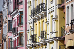 Fragment of modern exterior Royalty Free Stock Photography