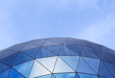 Fragment of modern glass building Stock Photo