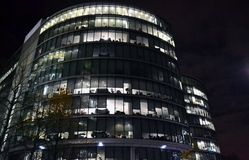 Fragment of the modern glass business offices in London Stock Photo