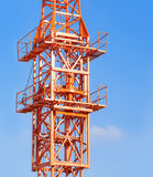 Fragment modern industrial construction Royalty Free Stock Images