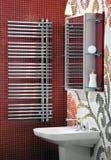 Fragment of modern luxury bathroom interior Royalty Free Stock Photo