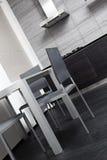 Fragment of modern minimalism style kitchen Stock Images