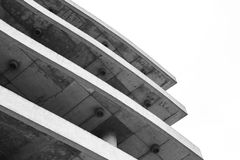 Fragment of modern parking Royalty Free Stock Photography