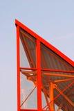 Fragment moderne de toit Photographie stock
