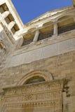 Fragment-Montierungtabor-Kirche des Transfiguration Stockfotos