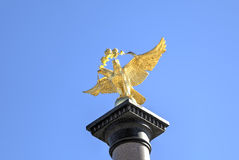 Fragment of Monument to the 1000 anniversary of Yaroslavl Royalty Free Stock Photography