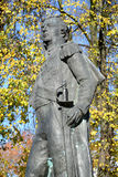 Fragment of a monument to the commander M. I. Kutuzov in Kaliningrad, Russia Royalty Free Stock Images