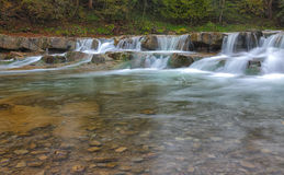 A fragment of the mountain river Royalty Free Stock Photography