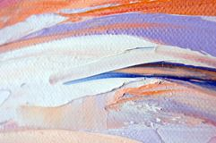 Fragment. Multicolored texture painting. Abstract art background. oil on canvas. Rough brushstrokes of paint. Closeup of a paintin. Colorful abstract painting stock photos