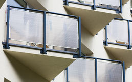 A fragment of a multistory building Stock Images