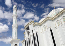 Fragment of a Muslim mosque in Astana Royalty Free Stock Photography