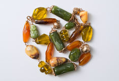 Fragment necklaces Royalty Free Stock Images