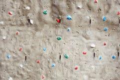 Fragment Of A Rock Climbing Wall Stock Photos