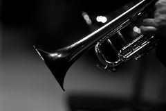 Free Fragment Of A Trumpet Stock Image - 98055261