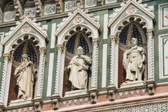 Free Fragment Of Facade Duomo Santa Maria Del Fiore, Florence, Italy Royalty Free Stock Image - 41259806