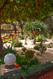 Fragment Of Famous Bahai Gardens In Haifa Stock Image