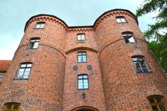 Free Fragment Of The Castle Fortress Gate 13th Century. Frombork, Poland Royalty Free Stock Image - 165207426